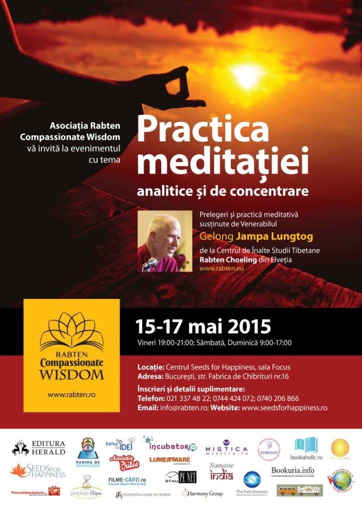 afis-web-Gelong-Jampa-la-Bucuresti-meditatia-15-17-Mai.-parteneri1